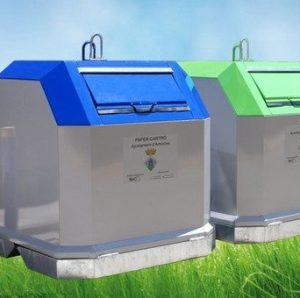 contenedores de carga superior.