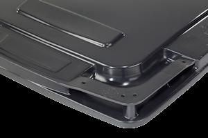 contenedores carga trasera 2 ruedas CL clip de tapa 01
